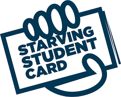 Starving Student Card logo